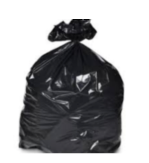 Waste bags and bin bags for hospitals